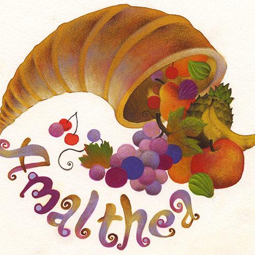 Amalthea logo, cliente: La Betulla, Reggio Emilia