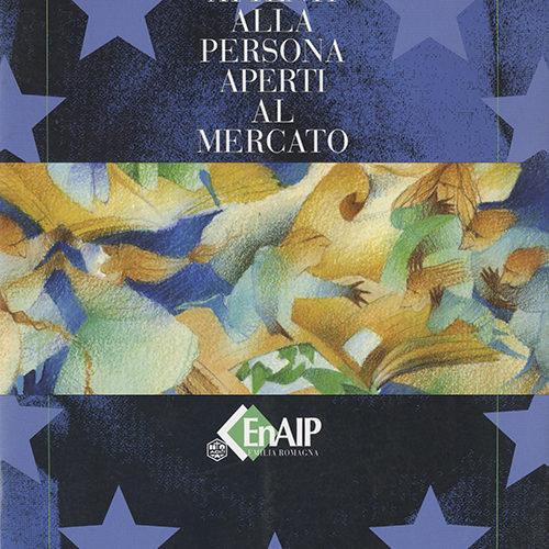 illustrazione di copertina per brochure, cliente: ENAIP, Reggio Emilia