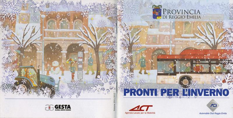 illustrazione di copertina per brochure, cliente: Comune di Reggio Emilia