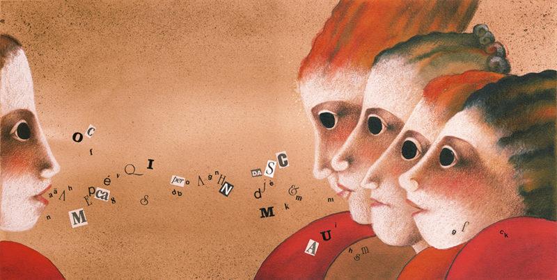 illustrazione di copertina per brochure, cliente: Creative, Reggio Emilia