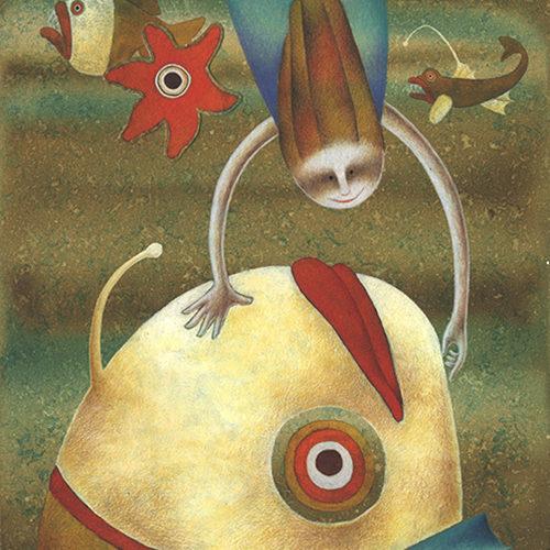 L'Onda Marina, selezionata per la mostra degli illustratori Bologna Book Fair, 2002