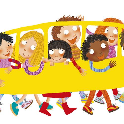 tutti in piedibus - Giorni di scuola - classe2 - Gruppo Editoriale Raffaello